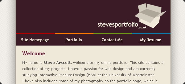 http://www.stevesportfolio.co.uk/