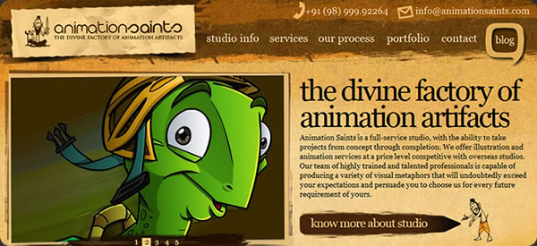 Animation Saints - 	 the divine factory of animation artifacts