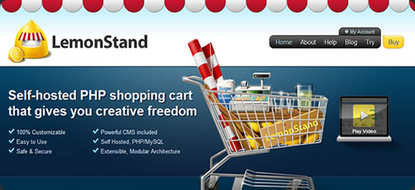Lemon Stand App - PHP shopping cart